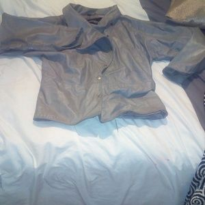 Wiksons Leather gray jacket